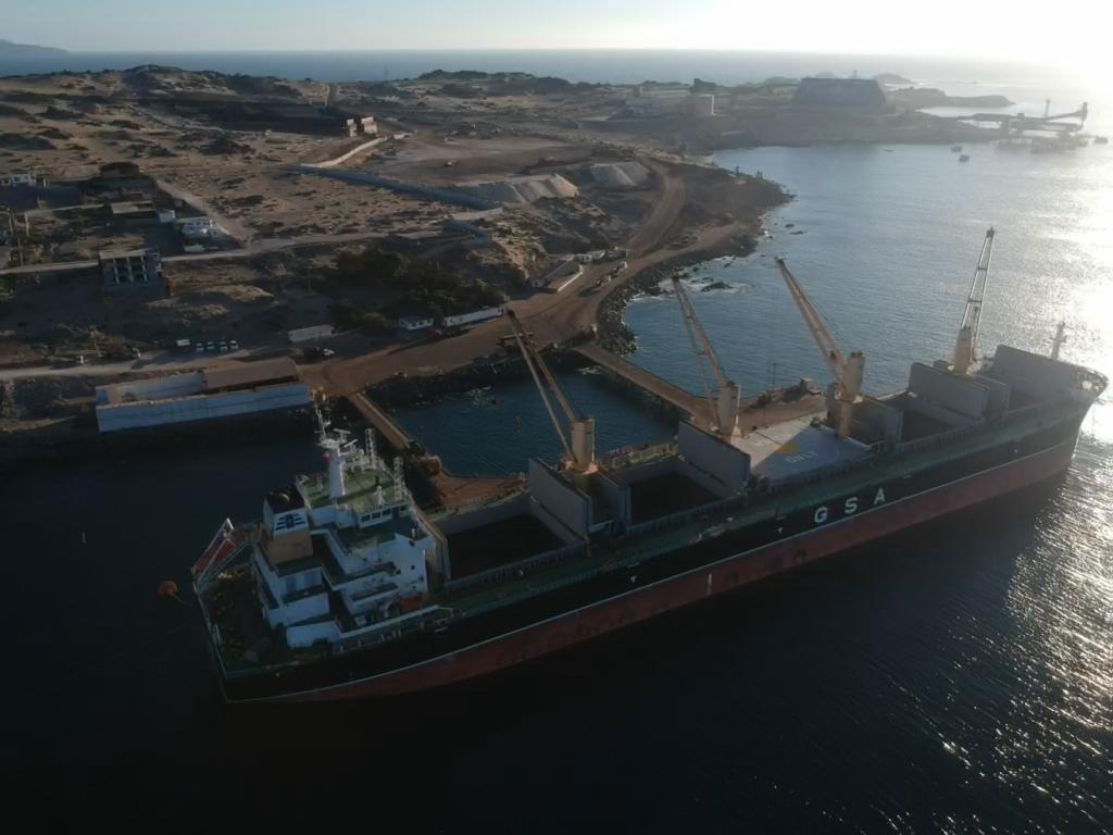 Terminal Marítimo Puerto Caldera retoma sus embarques de hierro con su primer envío del año